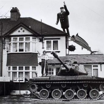 London Tank Protests: Top Gear Terror And Other Sights To Gladden The Heart