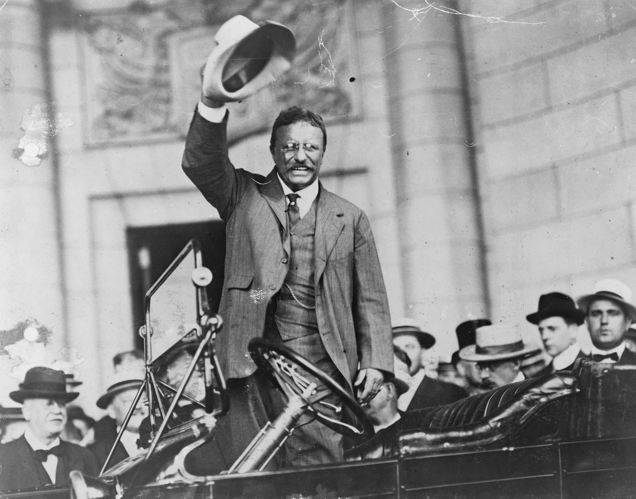 Theodore Roosevelt in 1906.