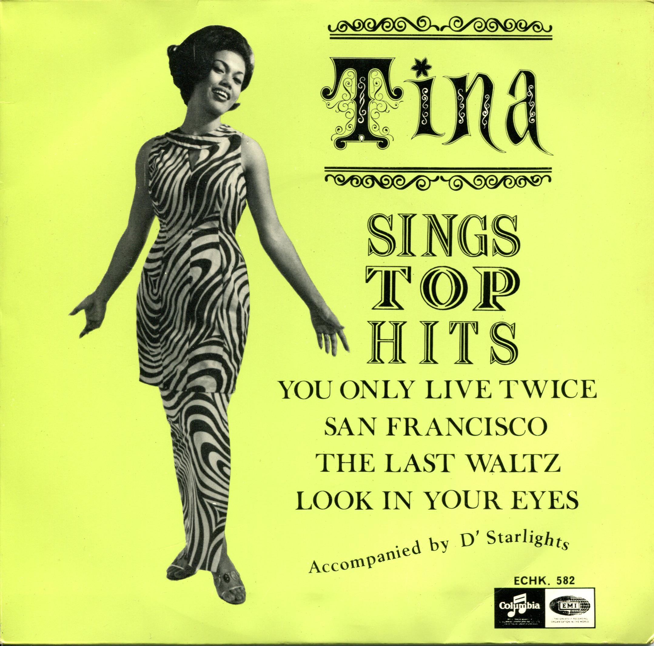 Tina Sings Top Hits You Only Live Twice