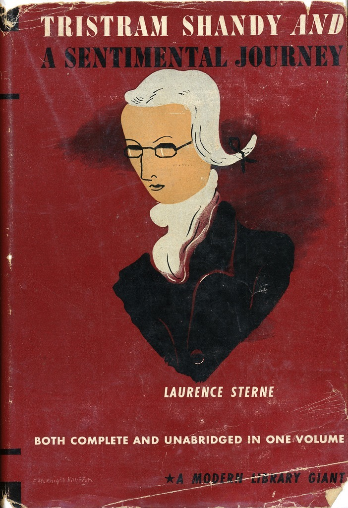 Tristam Shandy and A Sentimental Journey by Laurence Sterne. Modern Library Giant, 1941.