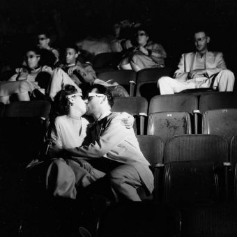 Weegee 1943: clandestine photographs of movie theater goers