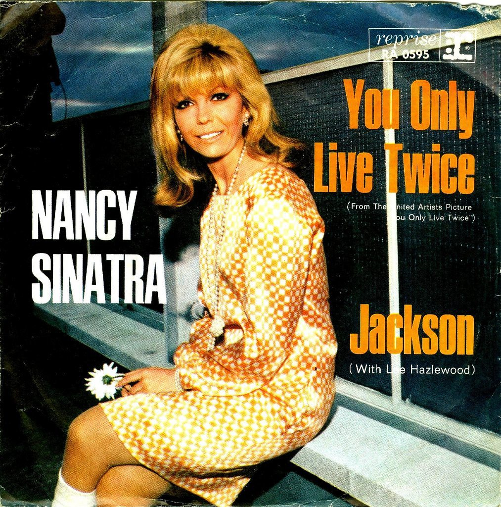 You Only Live Twice Nancy Sinatra