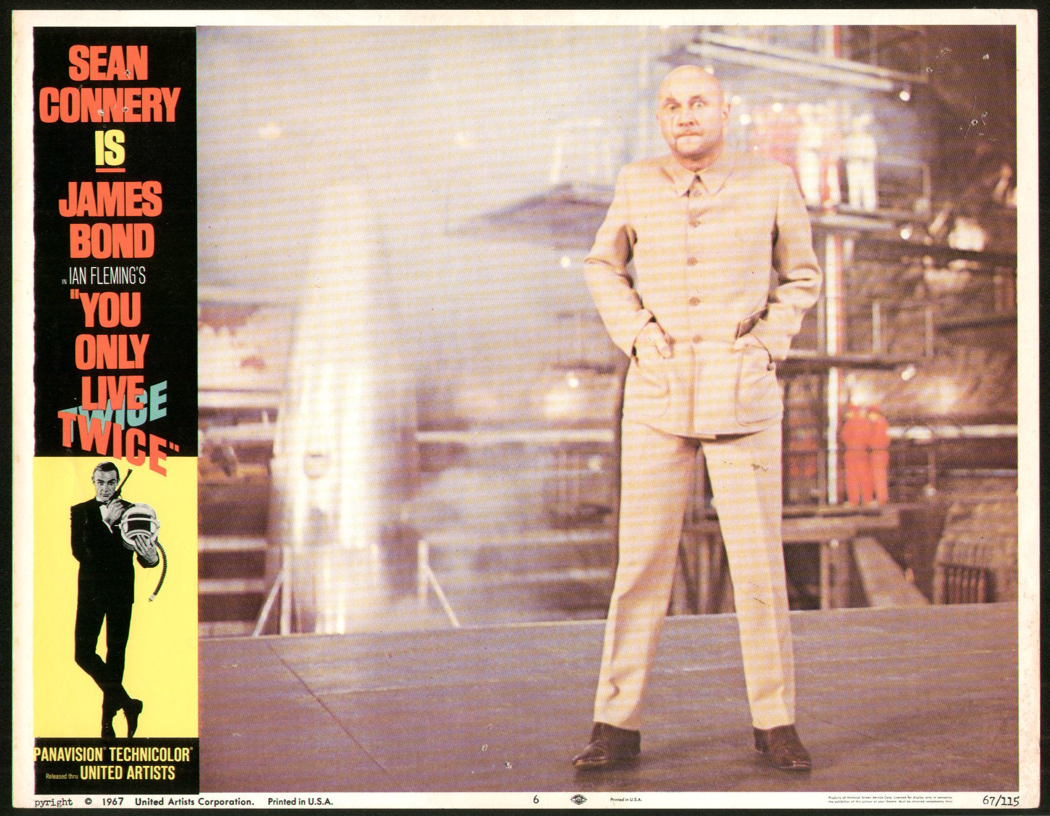 You Only Live Twice lobby card with villain