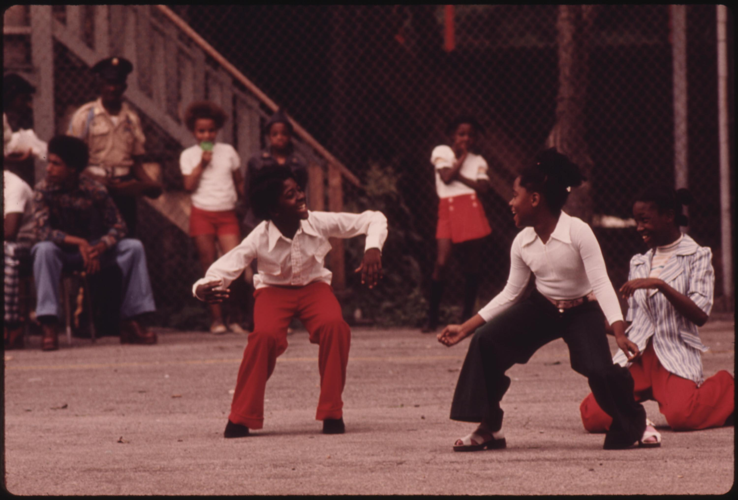 Youngsters Performing On An Empty Lot At 5440 South Princeton Avenue On Chicago's South Side, 08:1973 John H. White