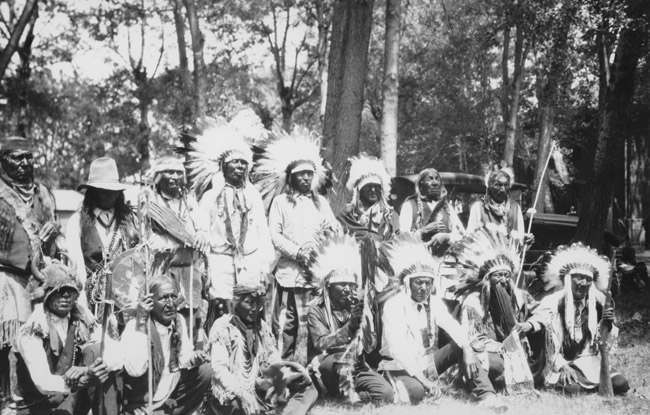 Little Big Horn Battle Survivors, Cheyenne Tsistsistas