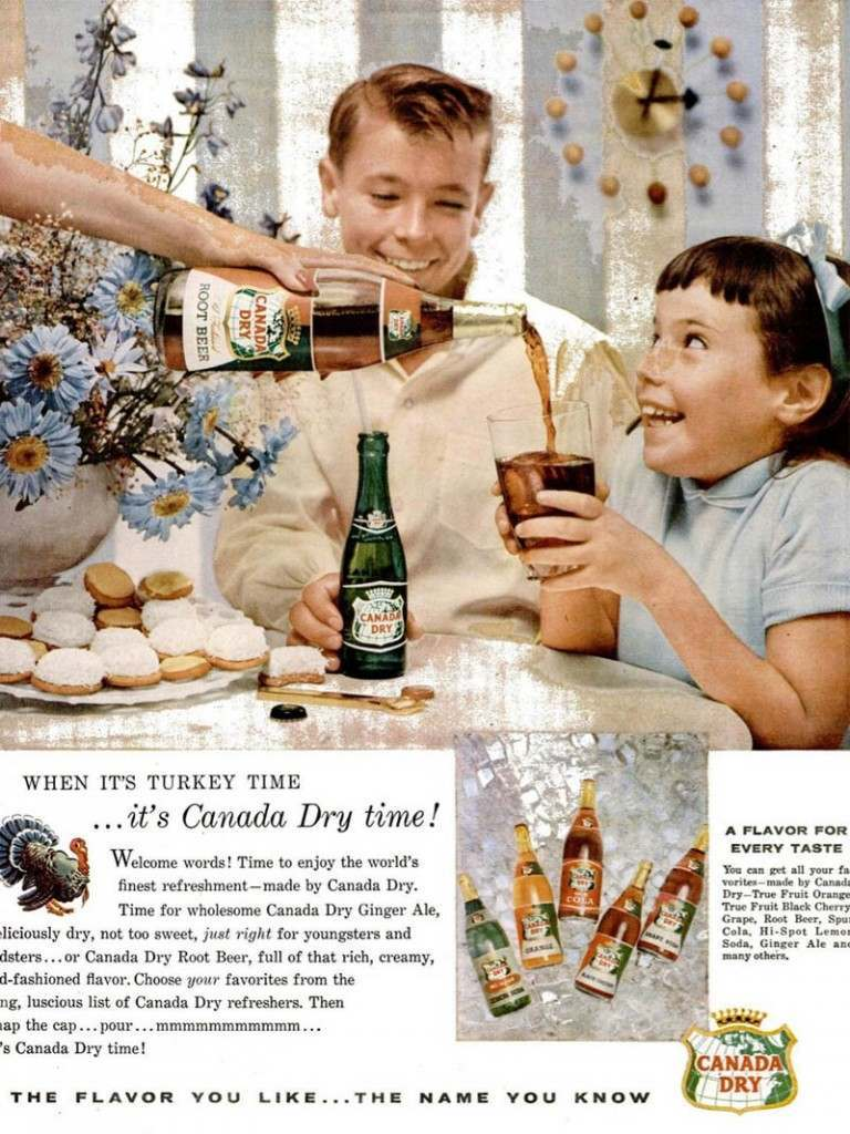 'Tell us about how the Injuns gve us the recipe for Canada Dry in exchange for smallpox, Buba'