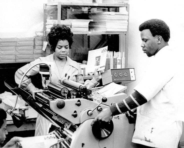 Esther Gordy Edwards founded the Gordy Printing Company with two of her brothers in the mid-1940s. With her husband, they created the Ber-Berry Co-Op, which was intended to provide loans to family members. Her younger brother Berry received an $ 800 loan to help start Motown Records in 1959. After Motown became established, Edwards took an active role in management and booking tours, including the legendary Motortown Revue in the early 1960s. She later created the Motown Museum, Hitsville USA.