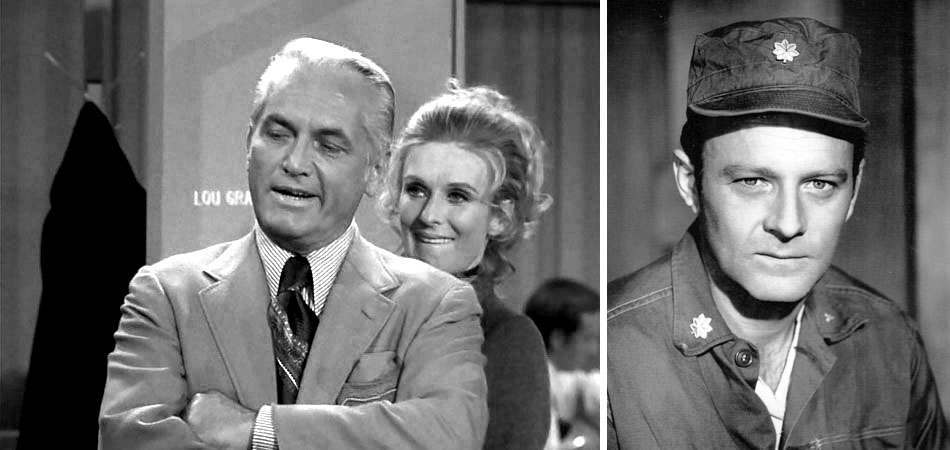 Ted Knight on Mary Tyler Moore and Frank Burns on MASH