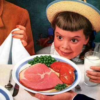 30 Terrifying Images Of Children In Adverts And Books From the Mid 20th Century