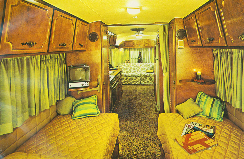 Campers Of Shag A Look Inside Groovy Recreational Vehicles The