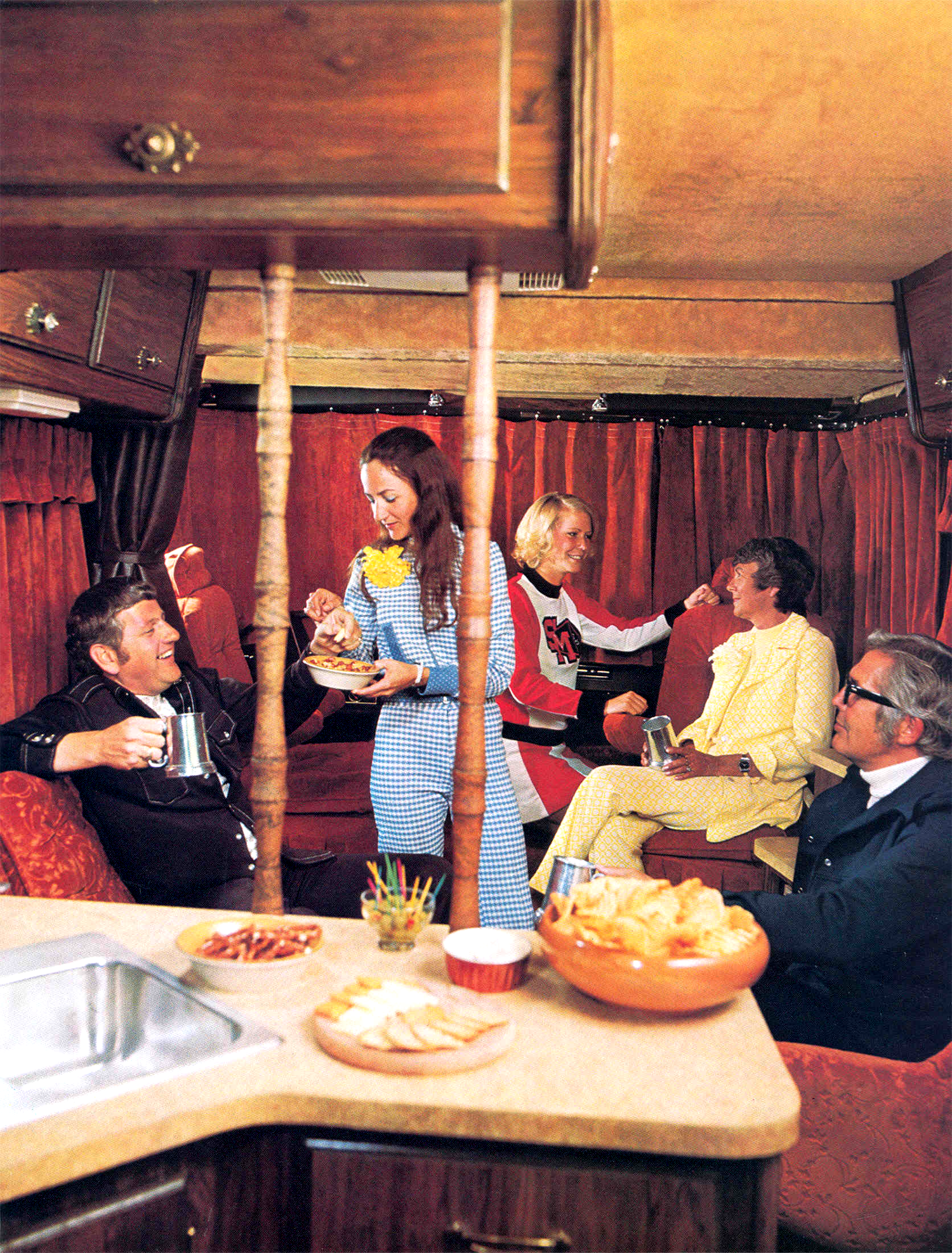Campers of Shag (Part 2): Another Look Inside Groovy RV's of