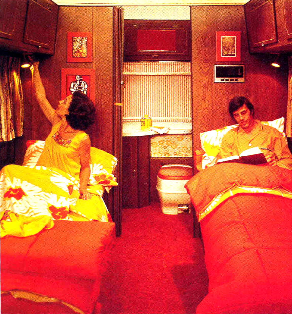 Campers Of Shag Part 2 Another Look Inside Groovy Rv S Of The 1970s Flashbak