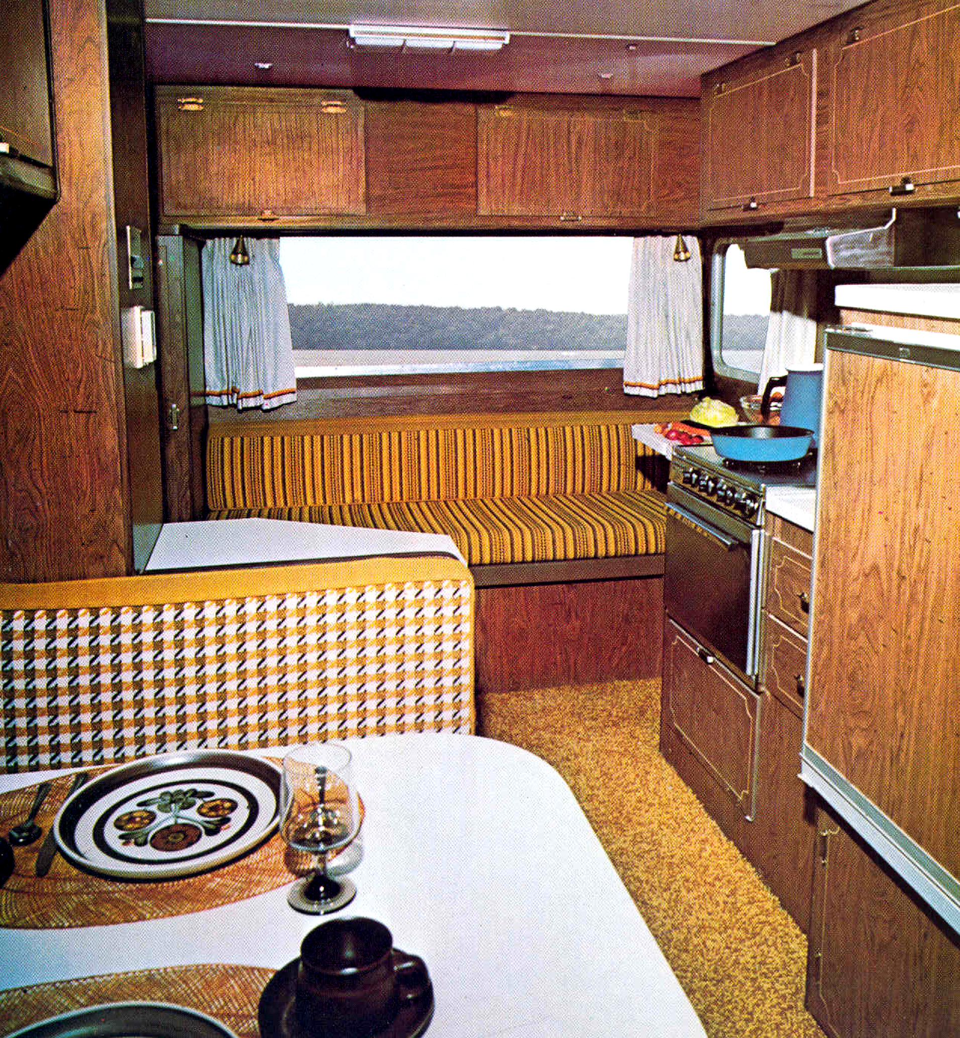 Campers of Shag (Part 2): Another Look Inside Groovy RV's of the
