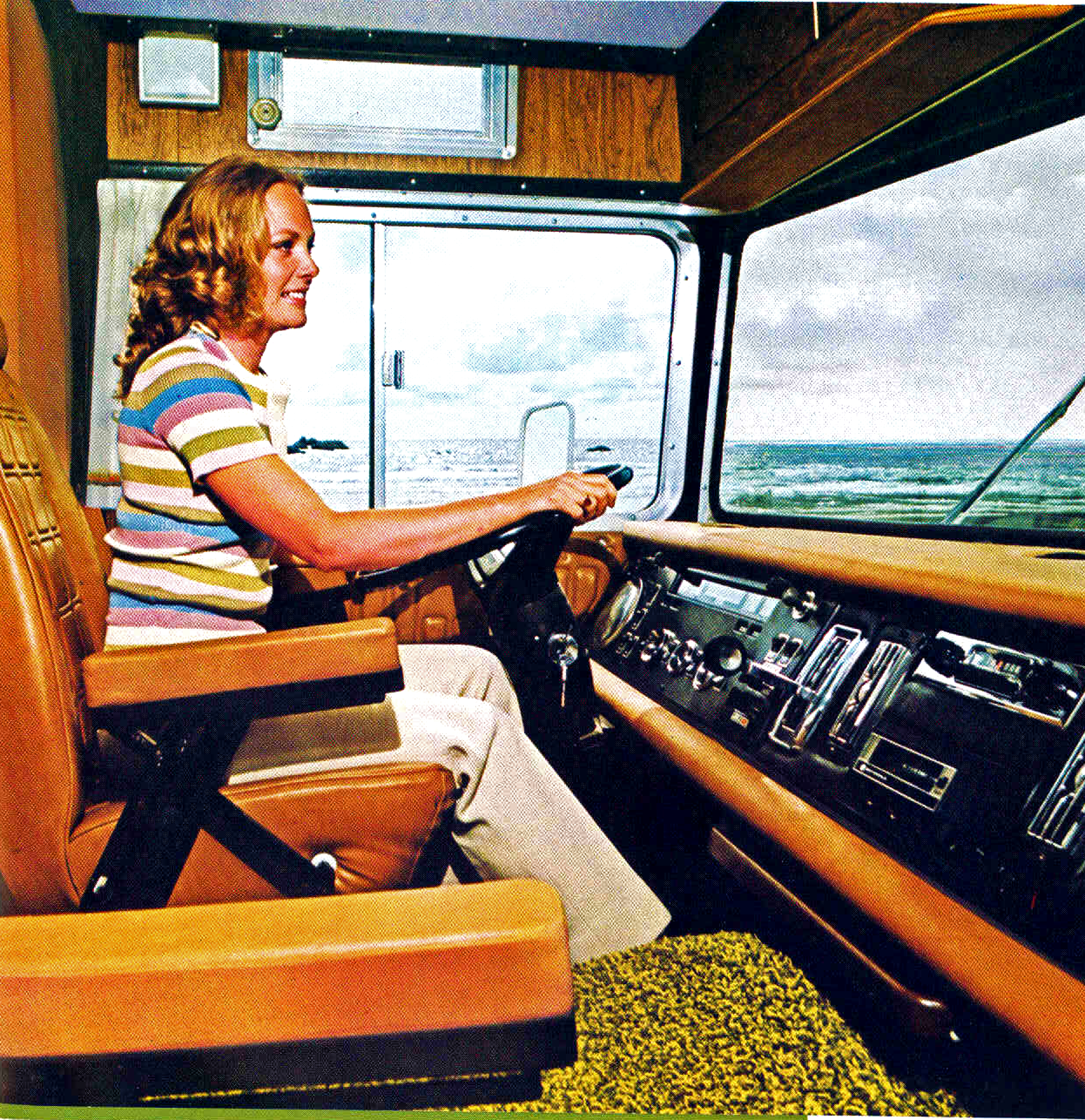 Campers Of Shag Part 2 Another Look Inside Groovy Rv S