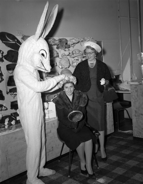 Easter Bunny Creator: Adolph B. Rice Studio Date: 1960 Apr. 11