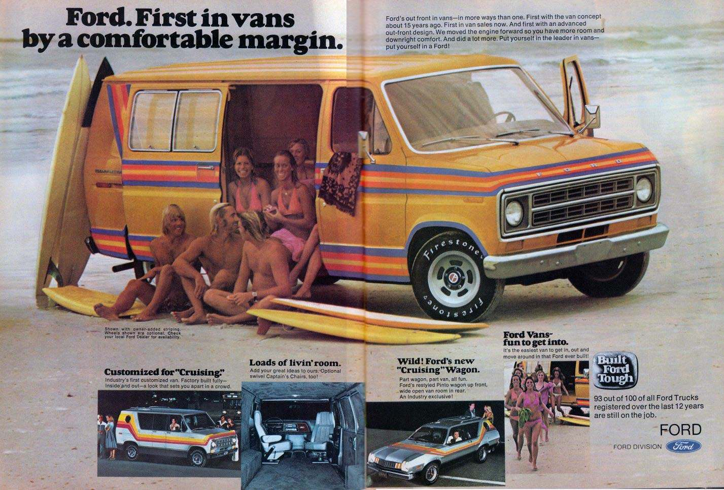 59ea44229e3a79 Days of the Shaggin  Wagon  A Look at 1970s Custom Vans - Flashbak