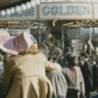Hampstead Heath Easter Fair 1956 – In Colour