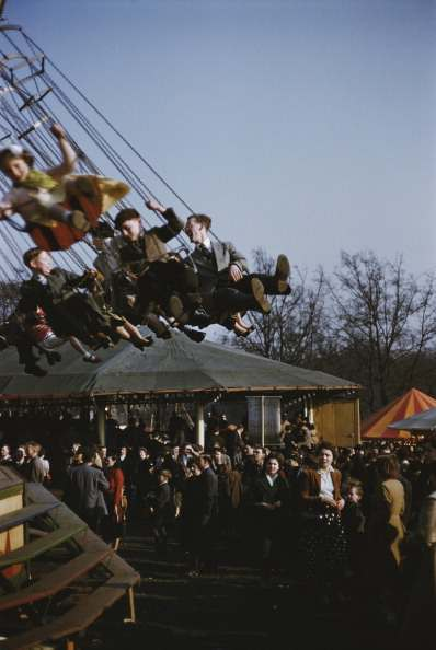 Easter Fair, held on Hampstead Heath,
