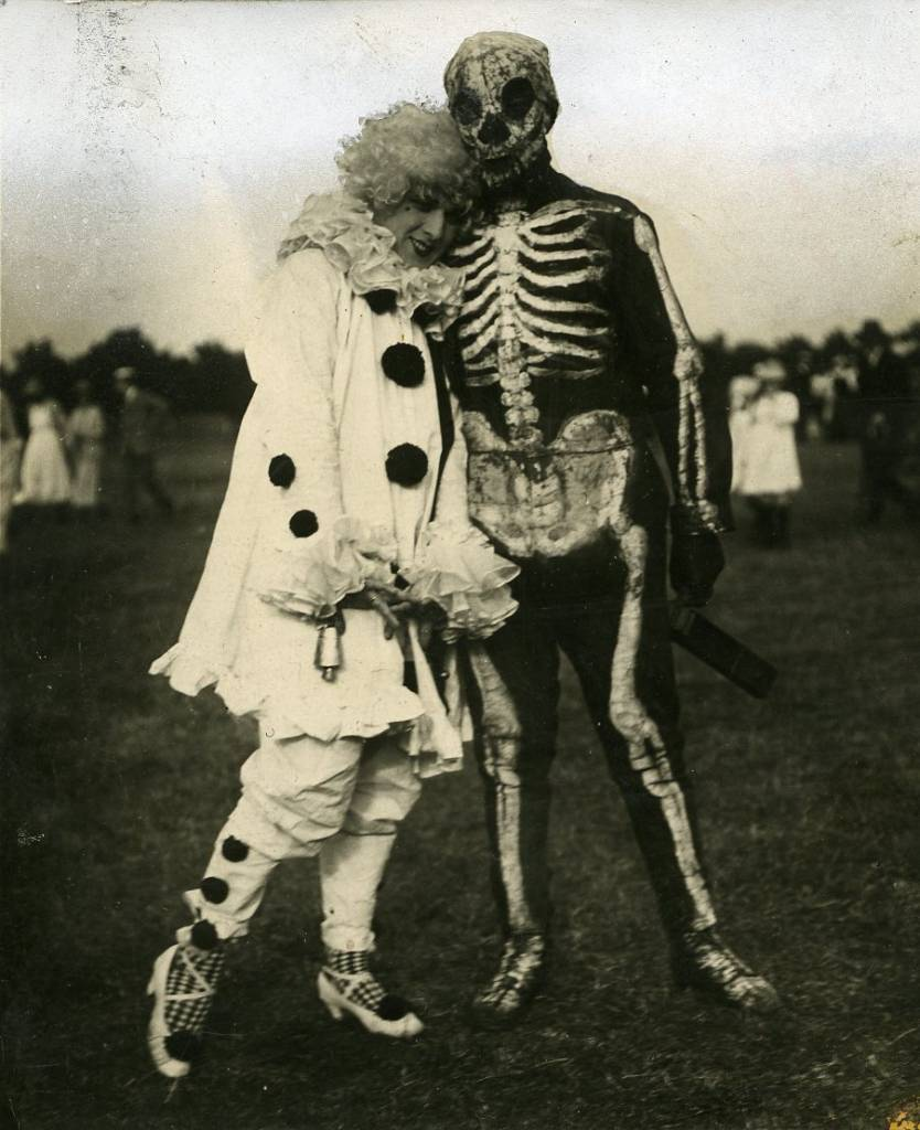 costume football match, 1920  Football players in costume. Photograph from University of Westminster Archives. More about the event can be found in the Polytechnic Magazine July 1920.