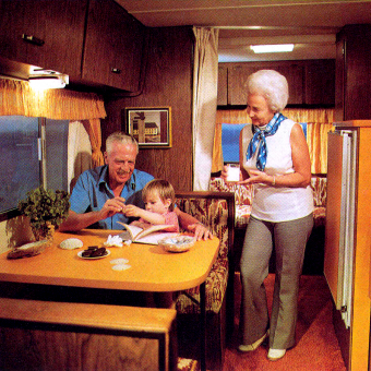 Campers of Shag (Part 2): Another Look Inside Groovy RV's of the 1970s