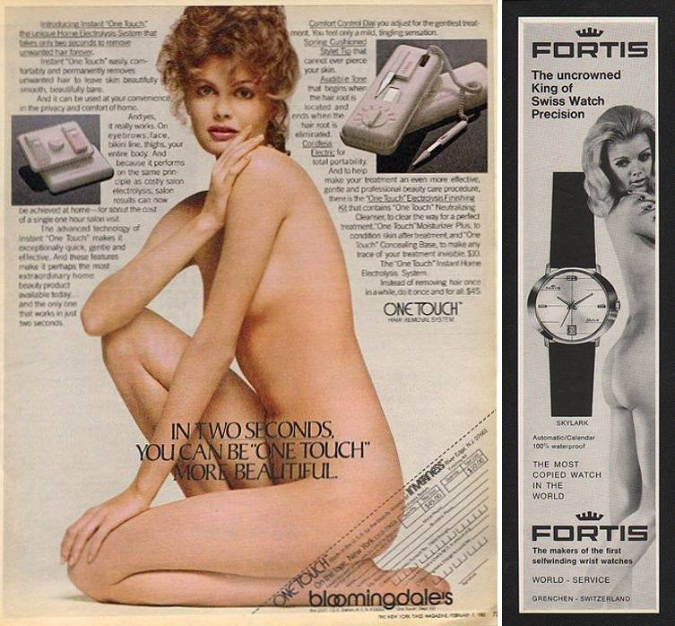 One Touch hair removal and watch