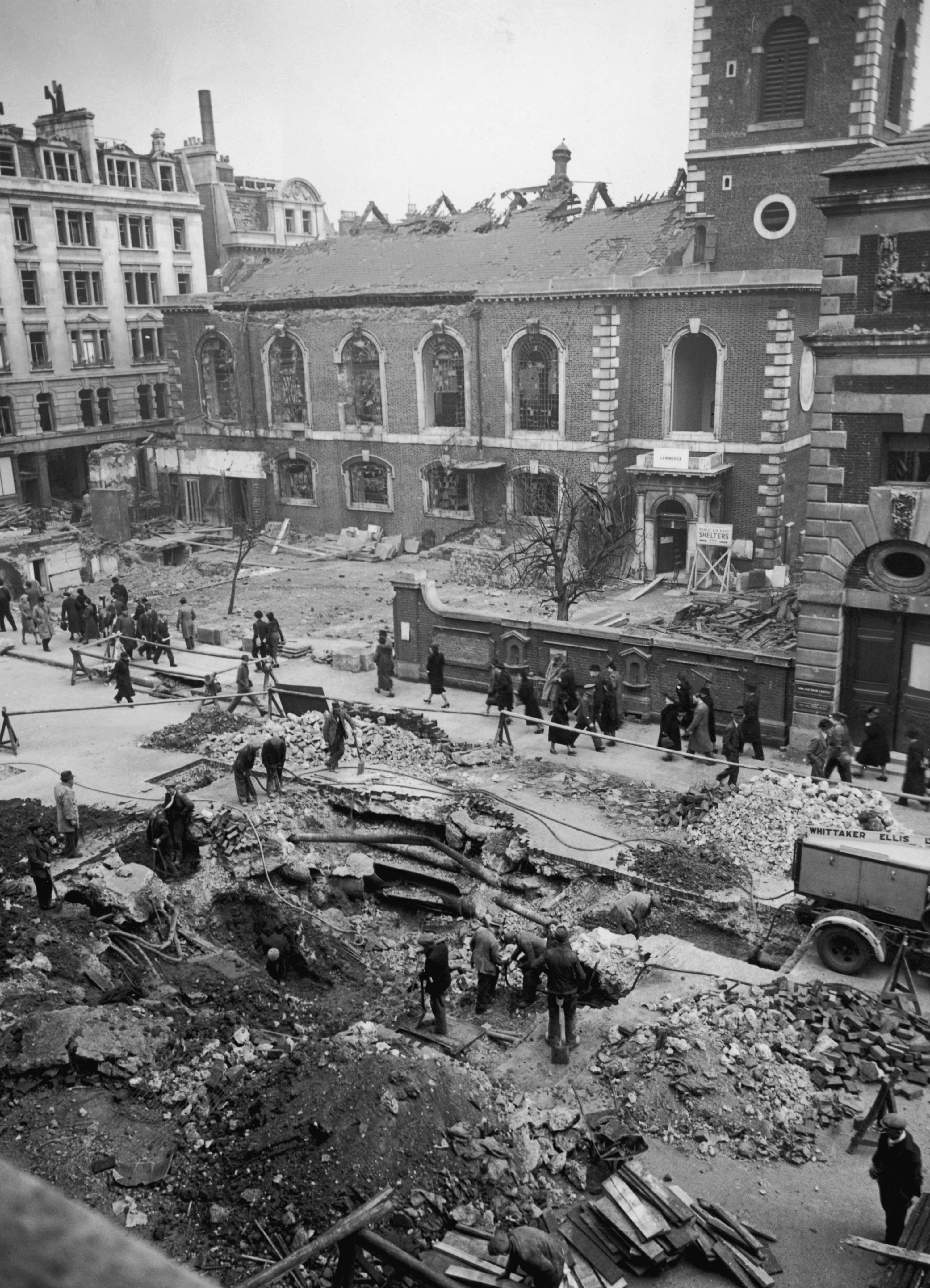Piccadilly Bomb Crater