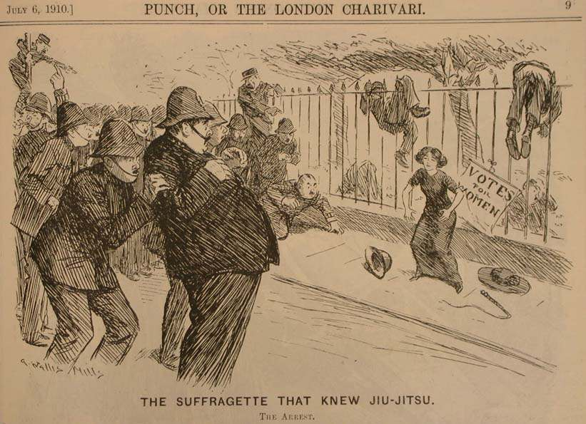 The Suffragette That knew Jujitsu copy