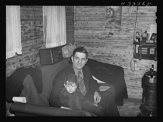 Title: Owner of a trailer camp with gold teeth. He gets a dollar fifty per week for trailer or tent space. Near Fayetteville, North Carolina Creator(s): Delano, Jack, photographer Date Created/Published: 1941 Mar.