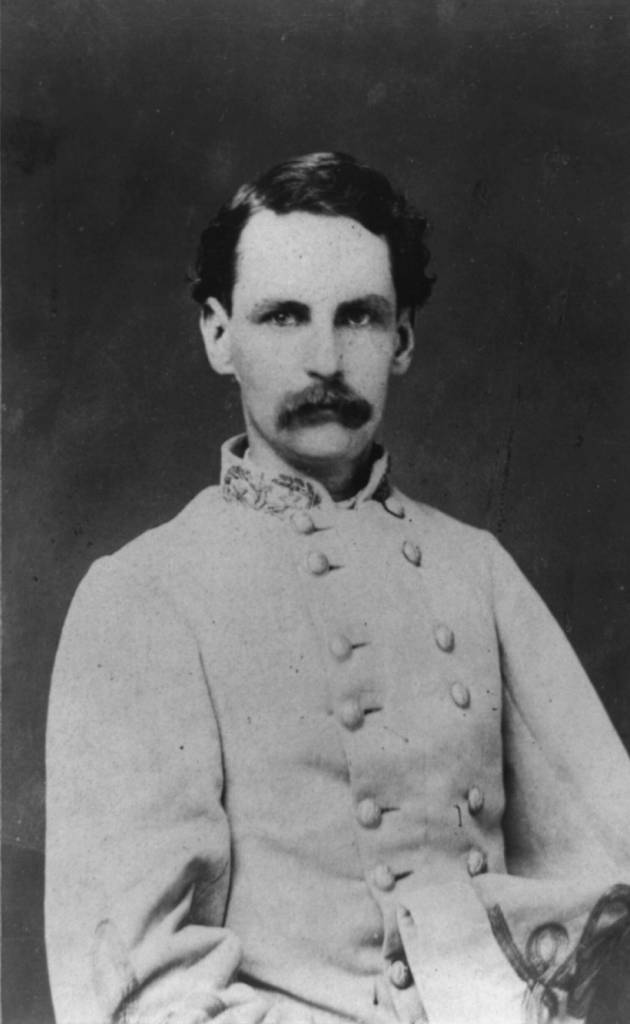 Francis R. T. Nichols lost an arm and a foot in separate Civil War battles. He became Governor of Louisiana in 1877. Courtesy Library of Congress