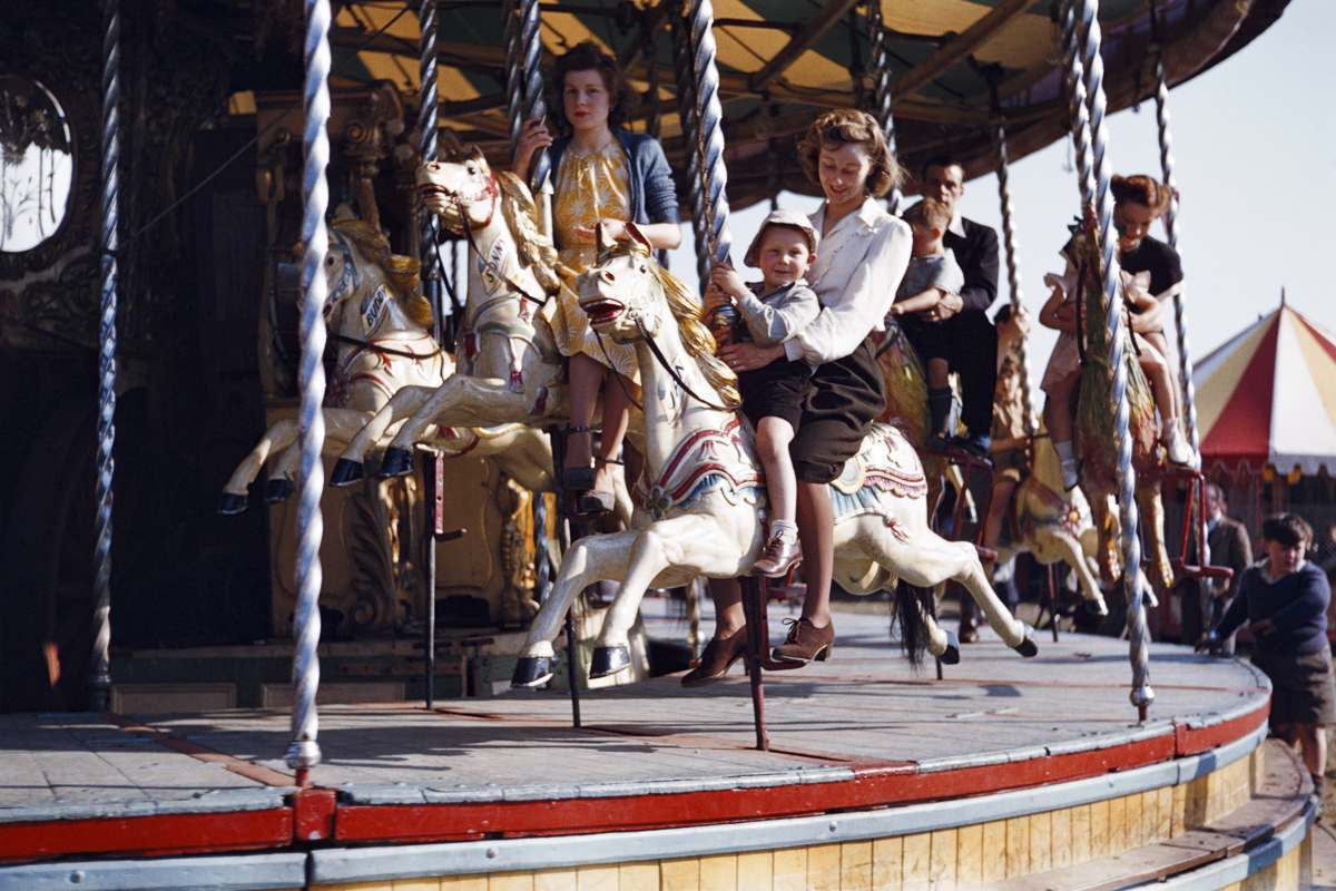 hampstead fair 1950s