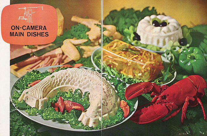Meals in a Mold The Mid,Century\u0027s Love Affair with Gelatin