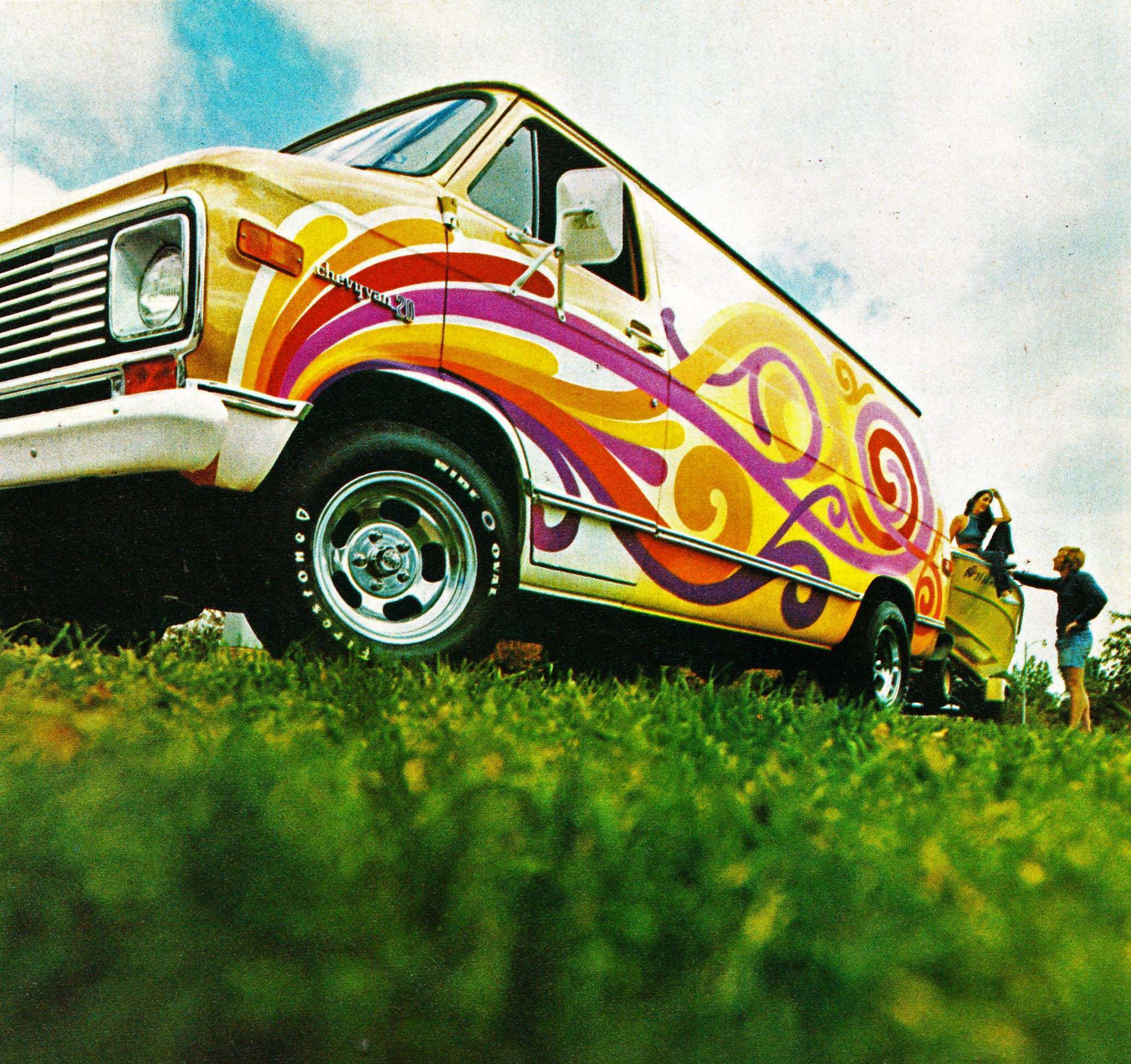Days of the Shaggin\' Wagon: A Look at 1970s Custom Vans - Flashbak