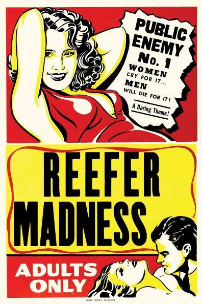 A cult classic film about Marihuana claiming women cry for it and men will die for it, 1950.