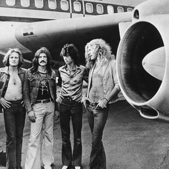 Led Zeppelin's Mile-High Party Aboard The Starship 1973