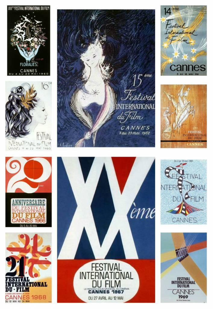 Cannes film festival posters