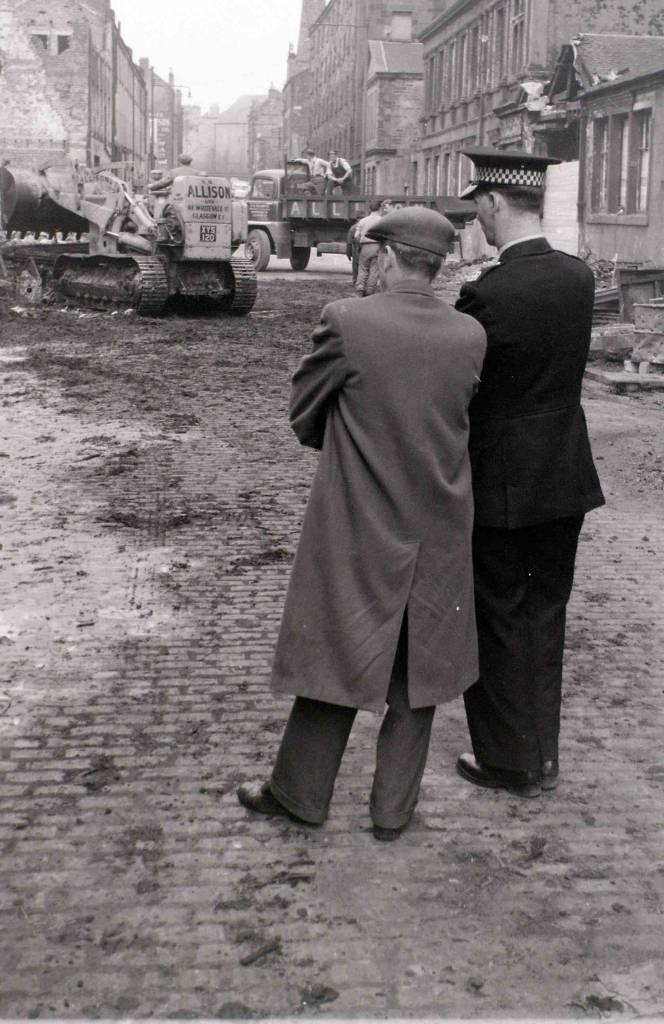 After the fire, Glasgow, 19 April 1960  This hugely destructive fire in the centre of Glasgow attracted wide national publicity.