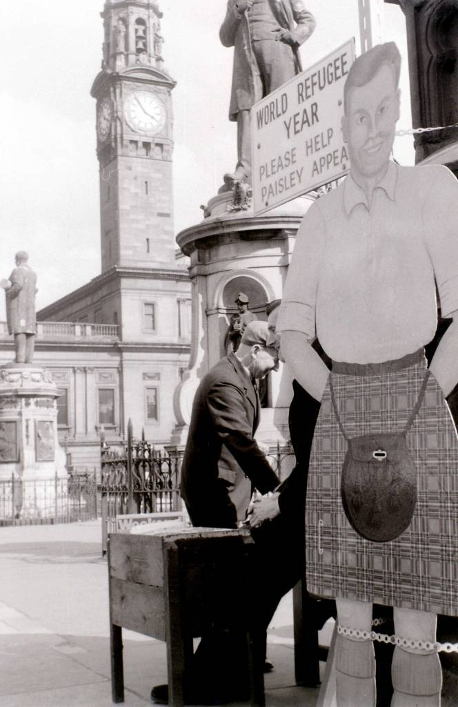 Paisley Cross, Scotland, 19 April 1960