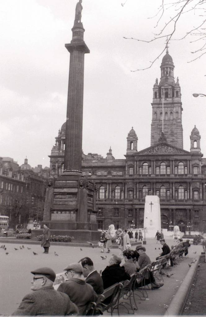 George Square, Glasgow, 19 April 1960