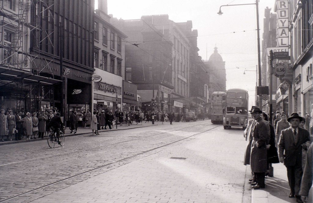 Sauchiehall Street, Glasgow, 19 April 1960