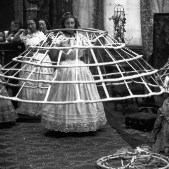 Scenes From Ladies Dressing Rooms: The Crinoline Craze In The 1850s and 1860s