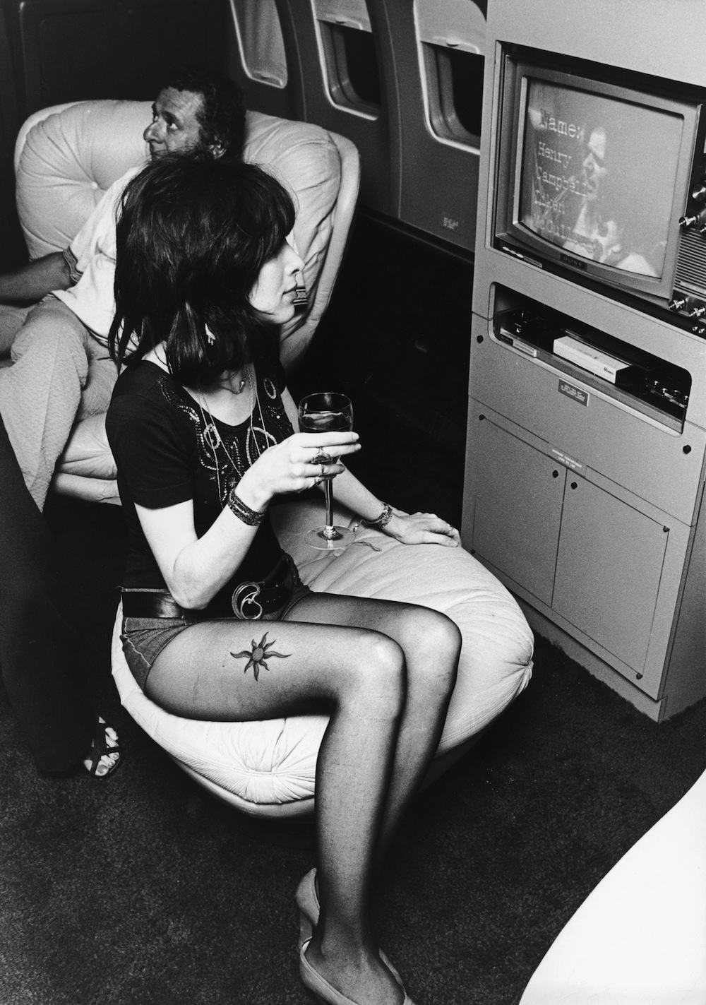 led zeppelins milehigh party aboard the starship 1973
