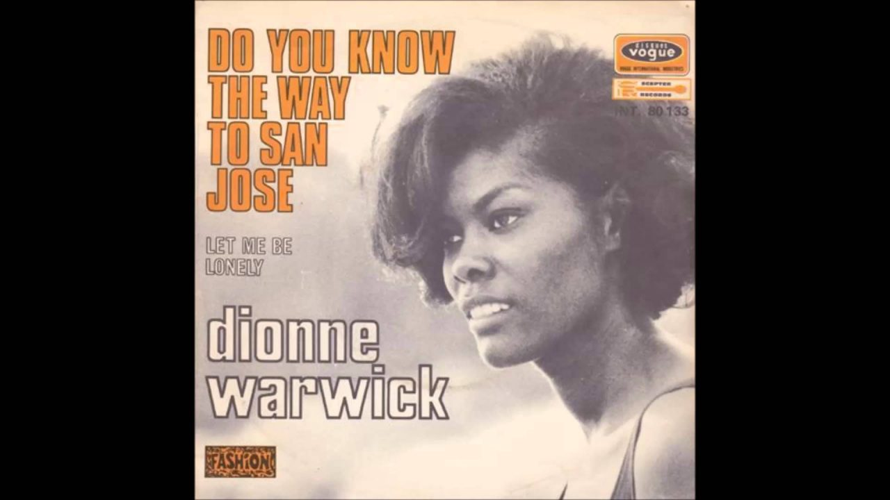 Image result for do you know the way to san jose dionne warwick images