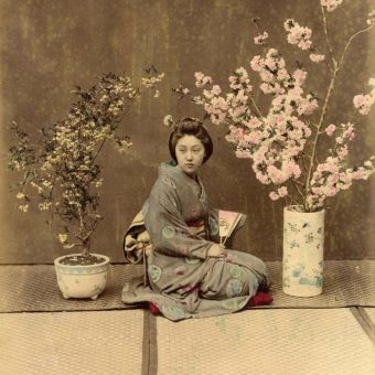 Life In 19th century Japan: Color Photographs Of Life With The Samurai And Geisha
