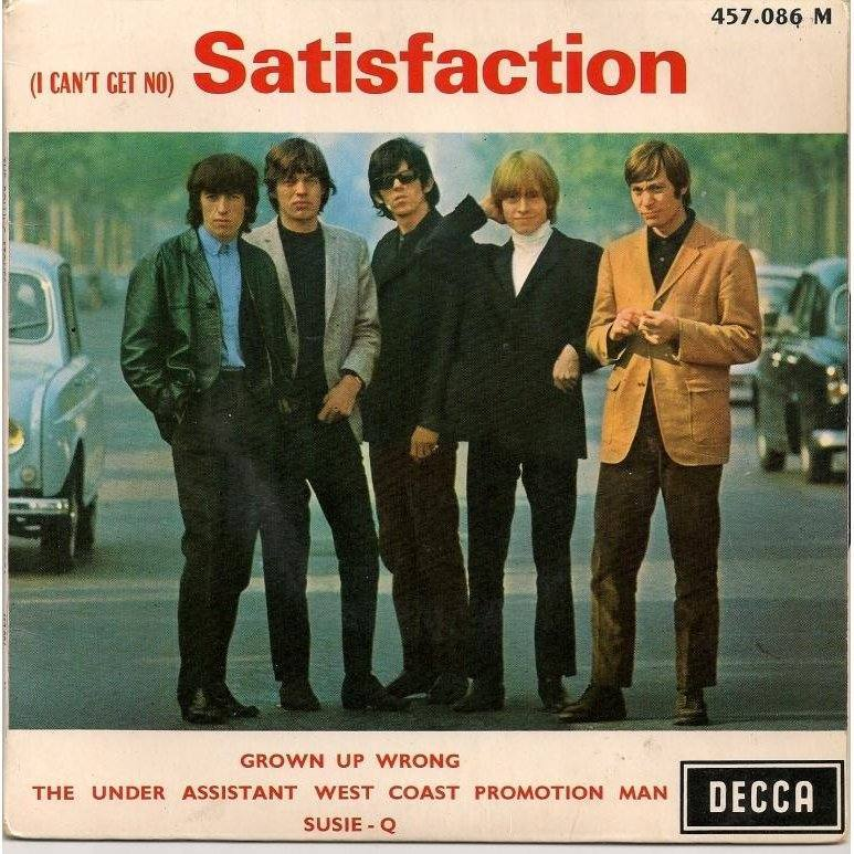 Rolling Stones Satisfaction 5
