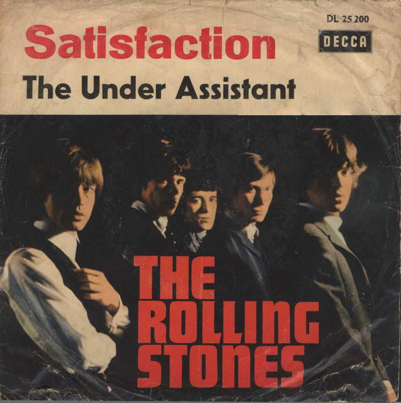 Rolling Stones Satisfaction 6