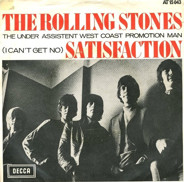Rolling Stones Satisfaction 7 Netherlands