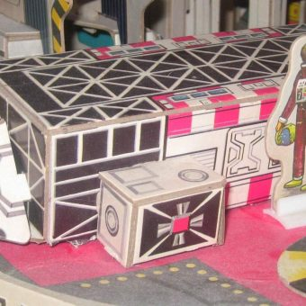 Cardboard Universe: Remembering the Amsco Playsets of the 1970s