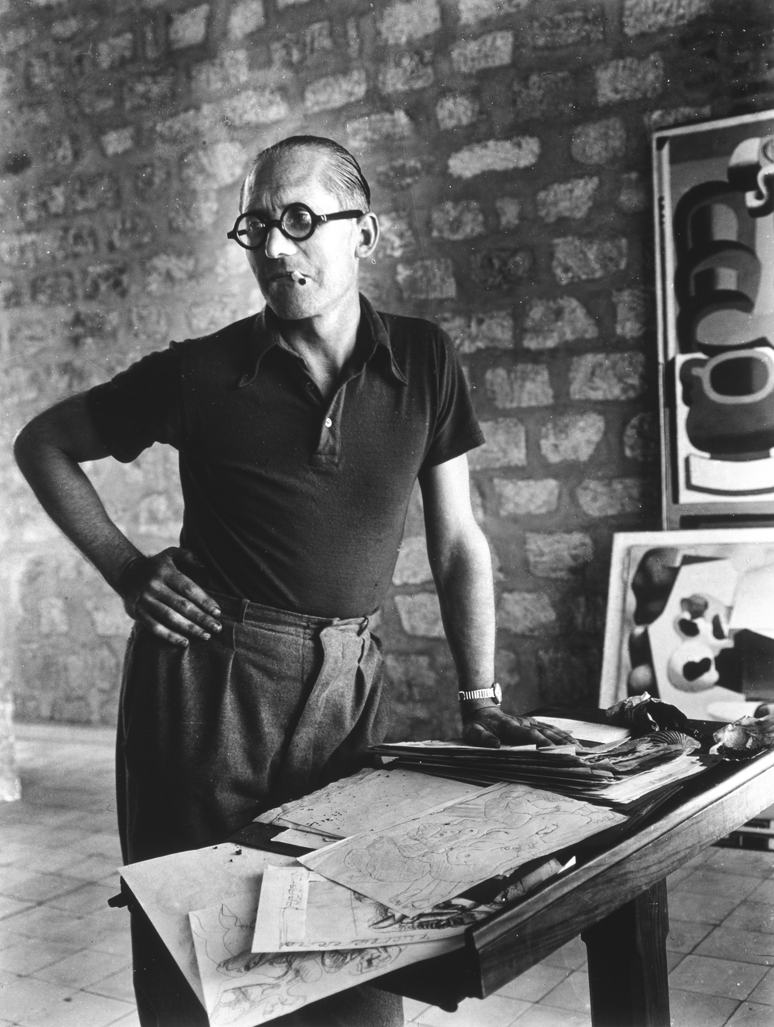 Charles Édouard Jeanneret, AKA Le Corbusier, California, 1937. Although Le  Corbusier