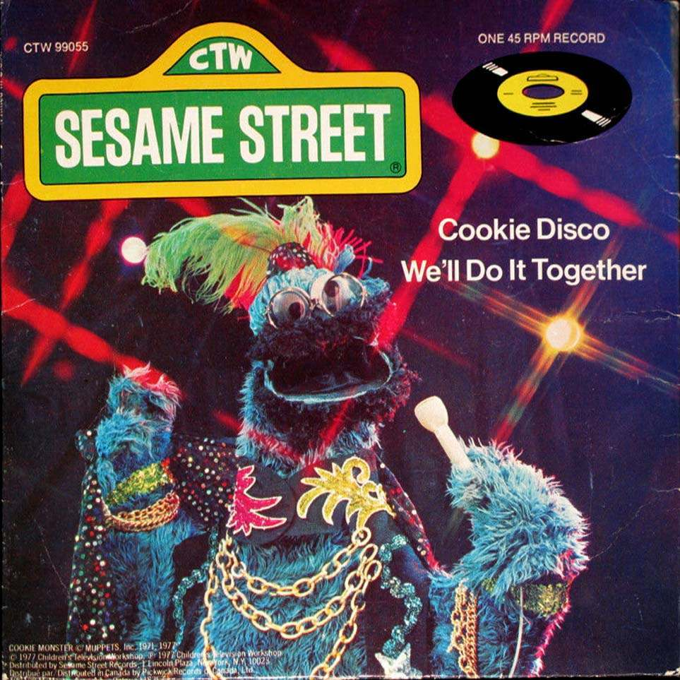 Cookie Monster Does Quot Shaft Quot And Other Disco Oddities
