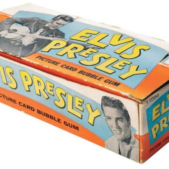 Bubble Gum Pop: Elvis Presley's 1956 Topps Trading Cards